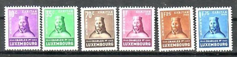 Luxemburg Nr. 284-9   *   ( a7569  ) siehe scan