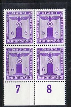 D.-Reich  Nr. D 4x 159  **  ( a6995 ) siehe scan