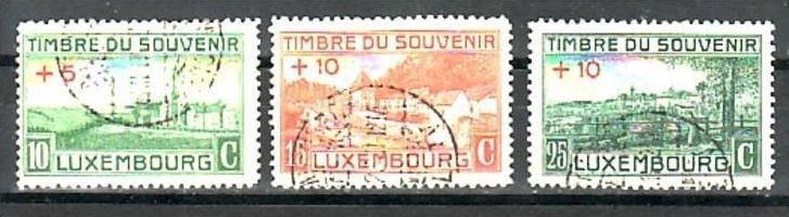 Luxemburg  Nr. 137-9   o   (a7086 ) siehe scan