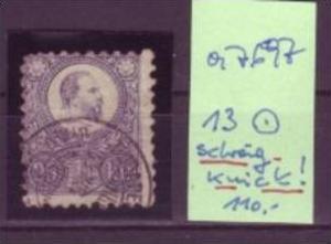 Ungarn   Nr. 13    o     (a7697 ) siehe scan