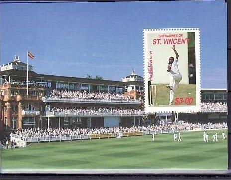 Cricket   St.Vincent  Block36     **  (ba5147) siehe scan