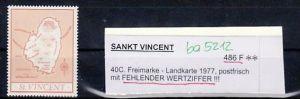 St.Vincent  Nr.  486 F    ** rare  (ba 5212 ) siehe scan