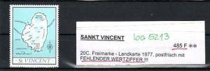 St.Vincent  Nr.  485 F    ** rare  (ba 5213 ) siehe scan