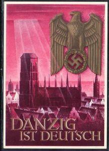 Ganzsache Deutsches Reich   DANZIG  (ba5305  ) siehe scan