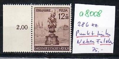 D.-Reich  Nr. 886  PLF  **(a8008 ) siehe scan