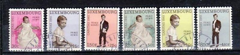 Luxemburg Nr. 649-54  o  (e6712 ) siehe scan