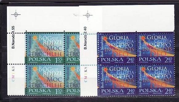 Polen 4x 4252-53   **  (e6721 ) siehe scan