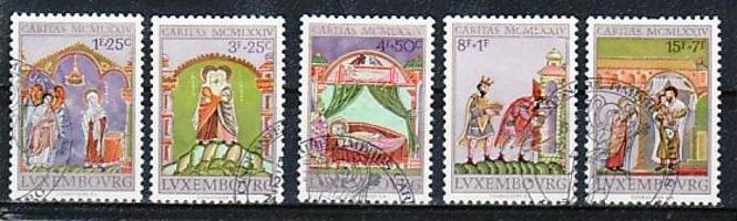 Luxemburg Nr. 893-7  o   (e6705 ) siehe scan