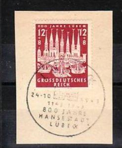 Deutsches Reich  Nr. 862    o-Sonder/Werbestempel (a8035 ) siehe scan