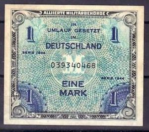 1,- Allierten Geld     (zz1100     ) siehe scan