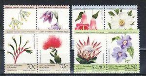 Grenadines/St.Vincent  8 Werte  Blumen     **/MNH  ( e6783 ) siehe scan
