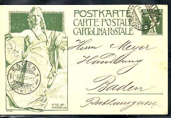 Schweiz  alte Ganzsache Bedarf   ( ba5548 ) siehe scan