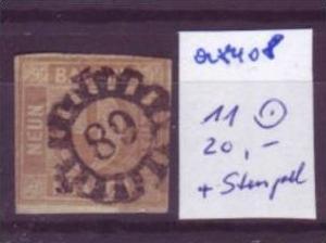 BAYERN  Nr.  11  o (a8408 ) siehe scan-vergrößert