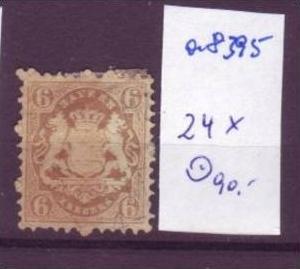 BAYERN  Nr.  24X  o (a8395 ) siehe scan-vergrößert