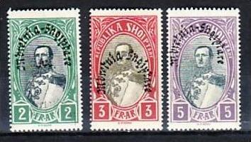 Albanien -Nr.  196-8  *   (a8823 )  siehe scan