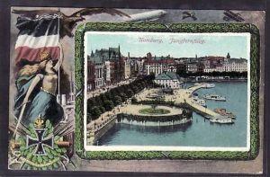 Hamburg /befördert 1915   -alte Karte (ba5721 ) siehe scan