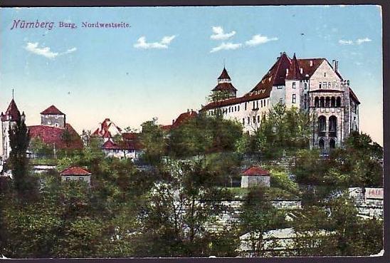 Nürnberg alte Karte    (ba5406 ) siehe scan