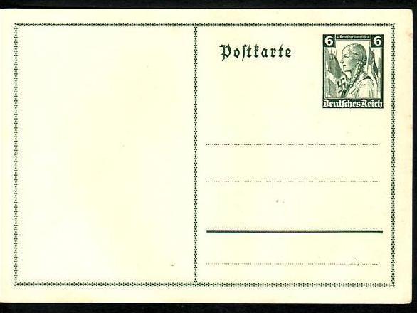 D.-Reich  Sonder-  Ganzsache( ba6366 ) siehe scan