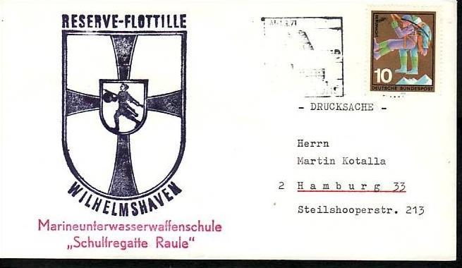 BRD Sammler Beleg Mariene /Schiffspost ....( ba6338 ) siehe scan