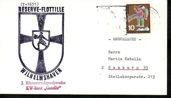 BRD Sammler Beleg Mariene /Schiffspost ....( ba6341 ) siehe scan