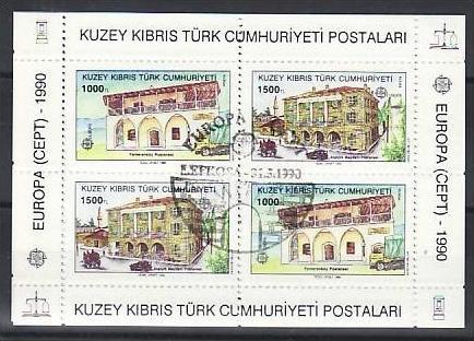 Türkisch-zypern Block 1 Postfrisch 5. Jahrestag Der Intervention