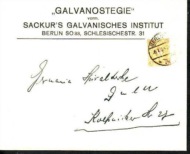 D.-Reich Infla -Firmenpost  Beleg  (ba6459 ) siehe  Bild