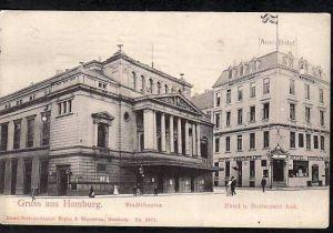 Hamburg  ..alte Karte  ( ba6378 ) siehe scan