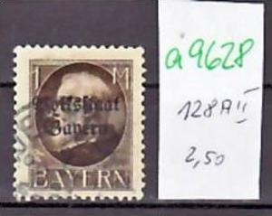 Bayern   Nr. 128 AII   o(a9628  ) siehe scan  !!