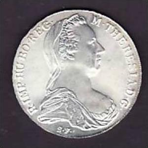 österreich Münze Maria Theresia Thaler Np Silber X303 Siehe Scan