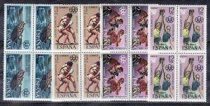Spanien Nr. 4x 2253-6   **  ( zz1845 ) siehe scan !!