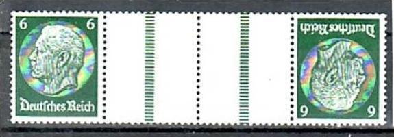 D.-Reich Zusammendruck  kz 22   */**  ( y4900  ) siehe scan