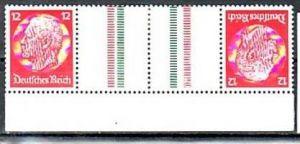 D.-Reich Zusammendruck  kz 23   */**  ( y4902  ) siehe scan