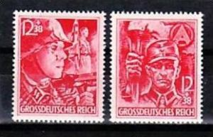 D.-Reich Nr. 909-10  **  ( y4891  ) siehe scan