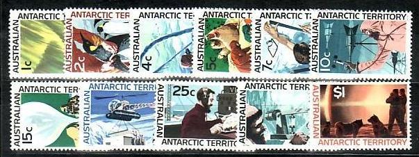 Australien-Antarktis  Nr.  8-18   **   ( e7268  ) siehe scan !