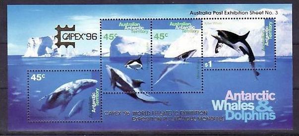 Australien Antartis   Block  1 II  **    ( zz2206  ) siehe scan  !!