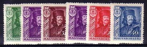 Ungarn nr. 517-21 */** ( s5704 ) siehe Bild