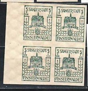 Finsterwalde  Nr. 4x 3 b **  ( y5546  )  siehe scan  !!