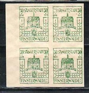 Finsterwalde  Nr. 4x 9  b **  ( y5548  )  siehe scan  !!