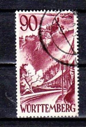 Würtemberg  Nr. 37   o  ( y5628  ) siehe scan   !!
