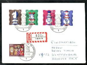 BRD   FDC/Sammlerbeleg  - Wofa 1972  (ba7778 ) siehe scan !!