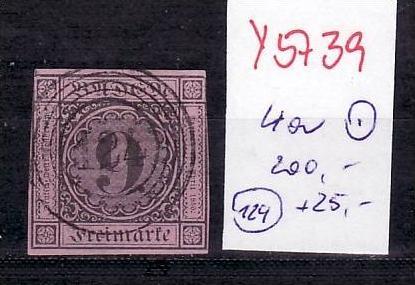 Baden Nr. 4a   o-schöner  Stempel  ( y5739  ) siehe scan