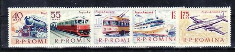Rumänien  Nr. 2161-5  **  ( e7711   ) siehe scan !