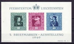 Liechtenstein Nr.  Block 5    ** ( p3230  ) siehe scan !!
