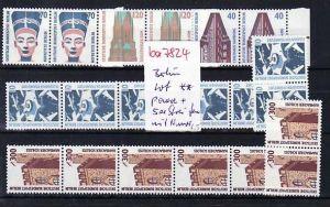 Berlin  Lot  Paare und 5er Streifen      ** ( ba7824  ) siehe scan !