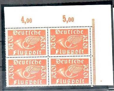 D.-Reich Nr. 4x 111  b   **   ( y5701  ) siehe scan !