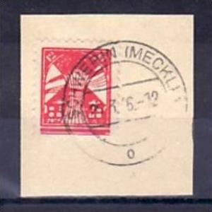 SBZ  Nr. 18Ib  o-Briefstück geprüft Kramp ( y5826 ) siehe scan !