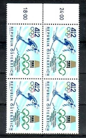 Österreich  Nr. 4x 1765  **  (zz2741  ) siehe scan   !