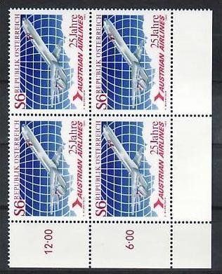 Österreich  Nr. 4x 1734  **  (zz2749  ) siehe scan   !