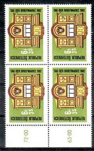 Österreich  Nr. 4x 1726  **  (zz2748  ) siehe scan   !