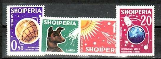 Albanien  Nr.  663-66   **  ( e7885 ) siehe scan !!